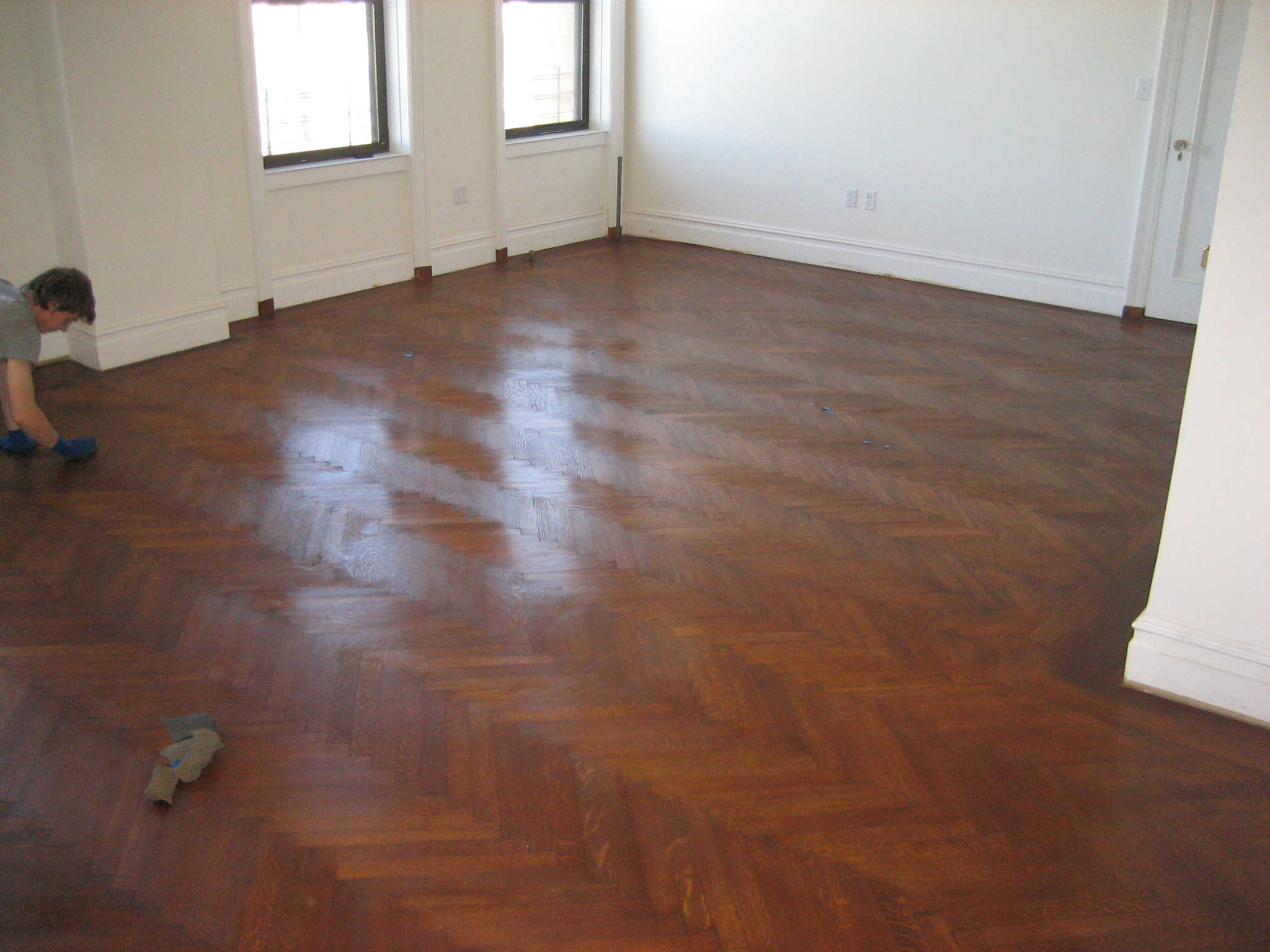 Wood flooring refinishing and repair restore or replicate for On the floor on the floor