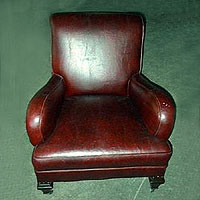 CUSTOM LEATHER CHAIRS, AND CUSTOM LEATHER CLUB CHAIRS
