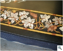 Stone marquetry after repair