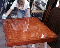Dining Table Frechpolishing