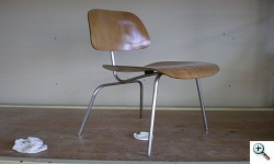 DCM Chrome chair