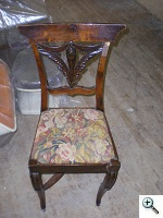 Louis XV period side chair in poor condition