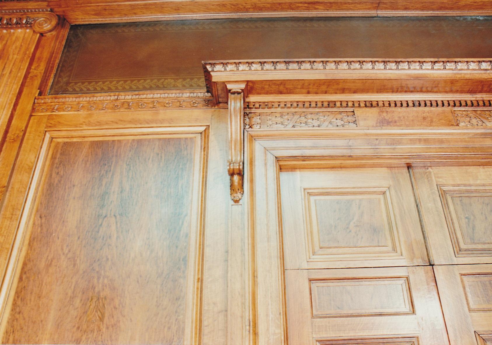 Baruch College Cuny Woodwork Restoration Historic English