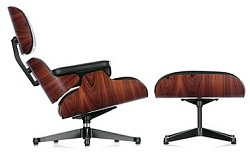 Vitra Lounge Chair, the Charles & Ray Eames-licensed European manufacturer of their Lounge chair