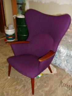 Wegner- Mama Bear chair recovered