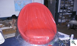Milo Baughman- Maurice Villency  Egg Chair reupholstered
