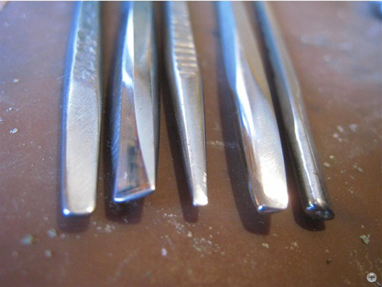 Repousee tools