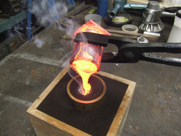 Custom Casting Iron And Bronze Metal Casting Model Making