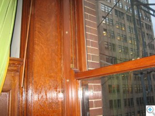Double Hung Window after Restoration