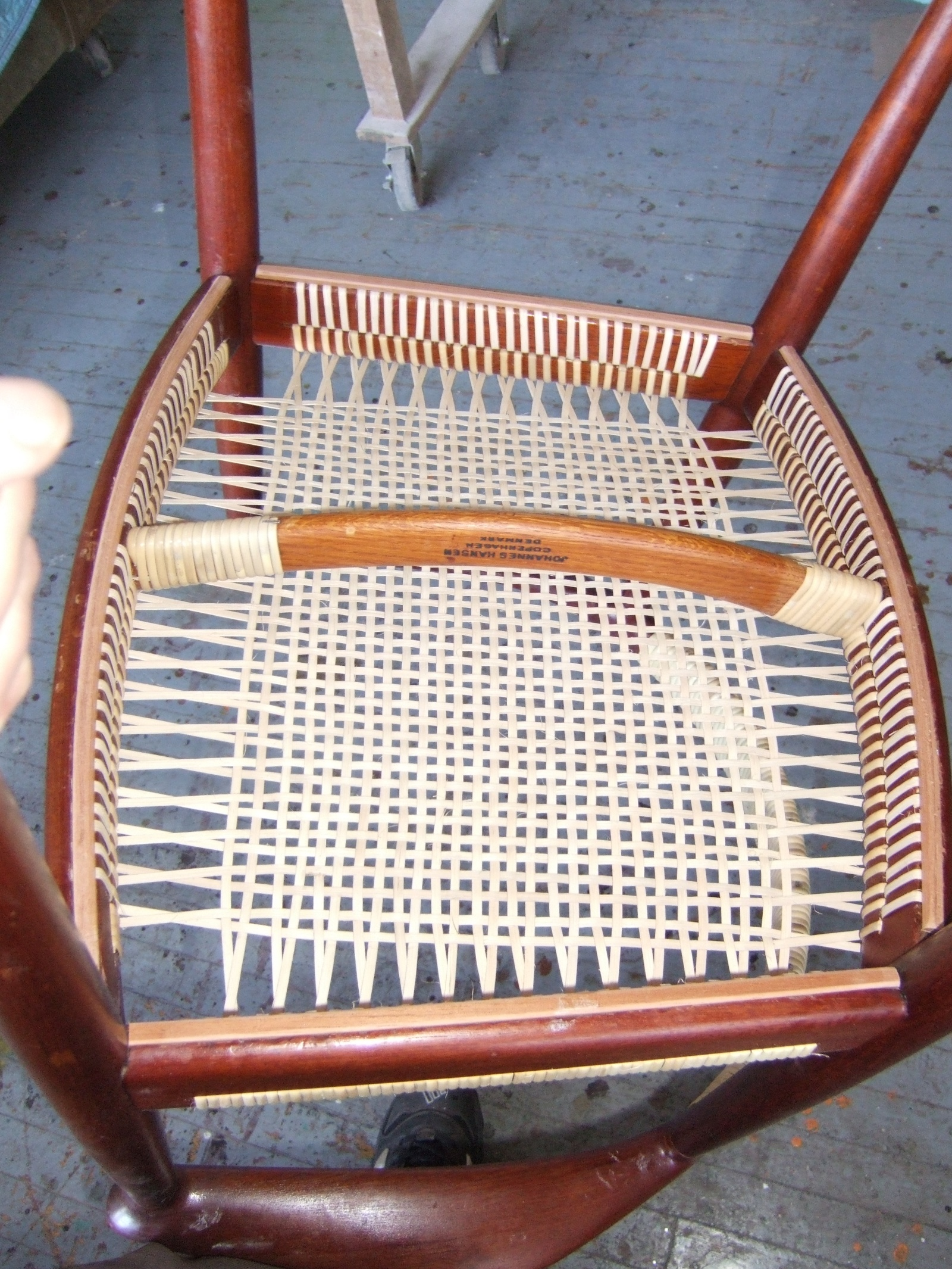 Hans Wegner Chairs Re Cane ...