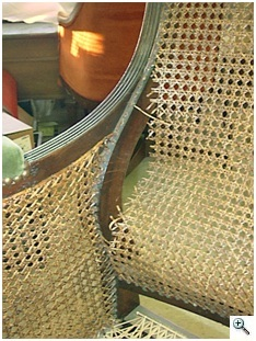 Early 19th Century Regency Chair Re-Caned, Blind Caning required BEFORE