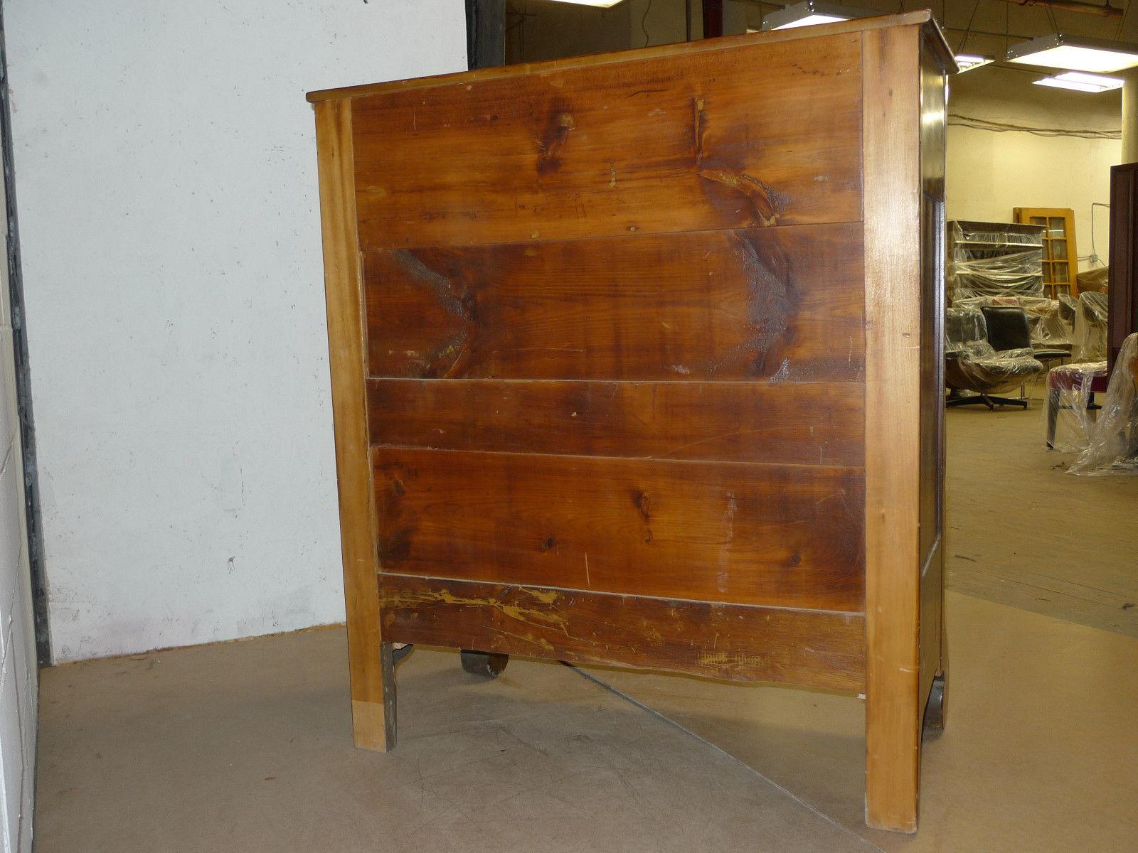 American Victorian Period Figured Cherry Dresser Antique