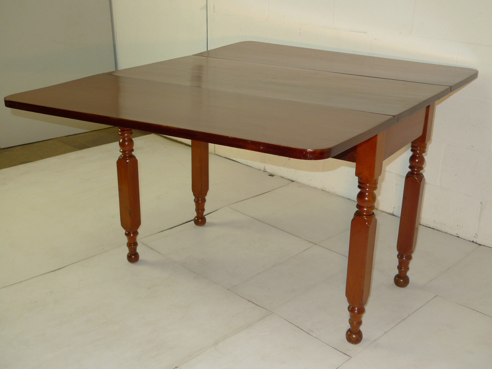 Victorian Period - Cherry Drop Leaf Table