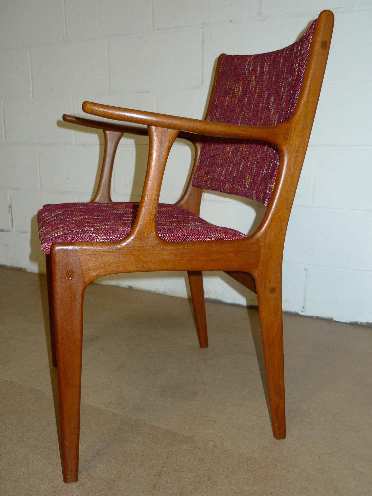 Danish Teak Mid Century Modern Arm Chair Modern