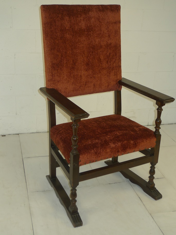 Antique Rust Color Wooden Chair 1 Welcome To