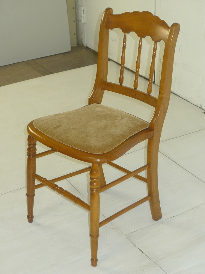 Antique Wooden Chair Gold Color