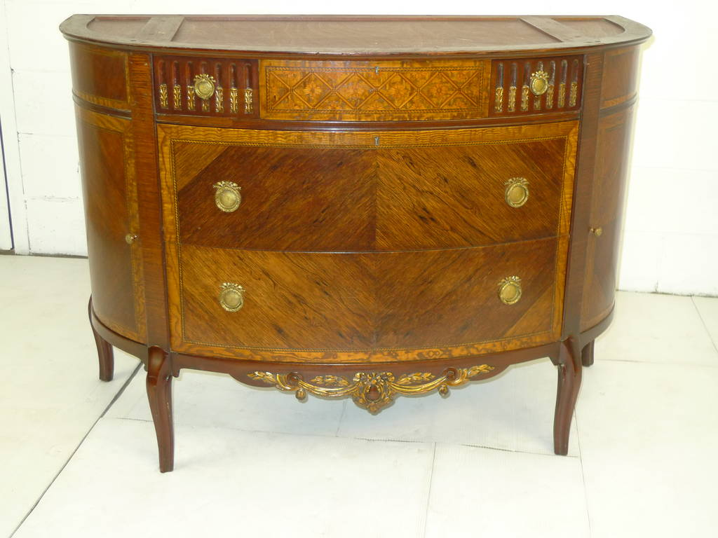 French Louis XVI style Rosewood Chest Drawers Ormolu Antique